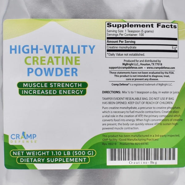 High Vitality Creatine Powder