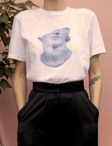 T-Shirt ⌇ Head of a Youth  Bleu ~ Blue