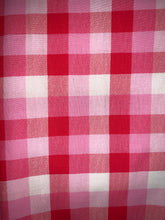 Load image into Gallery viewer, Minimal Pink Plaid Bandana
