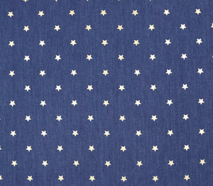 Denim Star Bandana - stellas-styles-studio