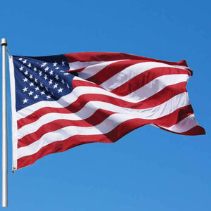 American Flags 3' x 5' Nylon American Flag Made in USA Pro Property Supply
