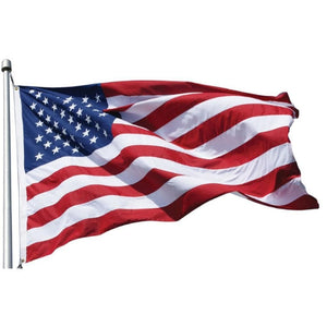 American Flags 4' x 6' Nylon American Flag  Made in the USA Pro Property Supply
