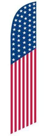Flags Patriotic American Flag Style- Stay Open Swooper Flags Pro Property Supply