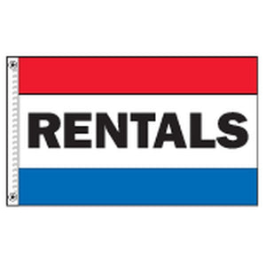 Flags Rentals 3' x 5' Horizontal Message Flags Pro Property Supply