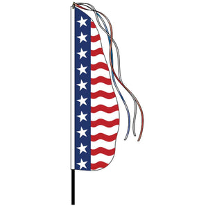 Flags Uncle Sam Feather Display Flag Pro Property Supply