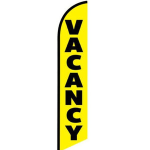 Flags Vacancy - Stay-Open Swooper Feather Flags Pro Property Supply