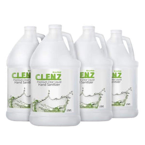 Maintenance Liquid or Gel Clenz Hand Sanitizer - 4 Gallon Case Pro Property Supply