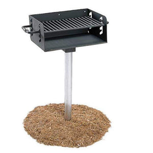 Maintenance Outdoor Grill Inground Rotating Pedestal Pro Property Supply