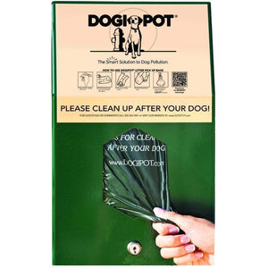 Pet Waste Solutions Aluminum Header Pak Dogipot Junior Bag Dispenser Pro Property Supply