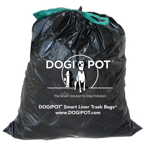Pet Waste Solutions Dogipot Smart Liner Trash Bags for 10 Gallon Can Pro Property Supply