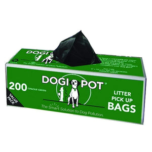 Pet Waste Solutions Dogipot Smart Litter Pick Up  Bags - Boxed Rolls (400 total Bags) Pro Property Supply