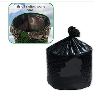 Pet Waste Solutions PRO Universal fit 10 Gallon trash can liner , case of 200 Pro Property Supply