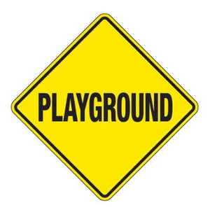 playground Playground Warning Sign Pro Property Supply