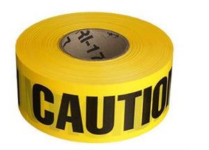 WARNING SIGNS Caution Barricade Tape - 1000 ft. Pro Property Supply