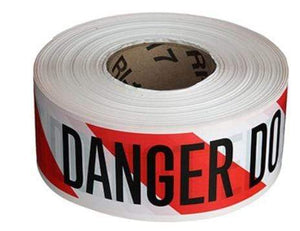 WARNING SIGNS Danger Do Not Enter Barricade Tape - 1000 ft. Pro Property Supply
