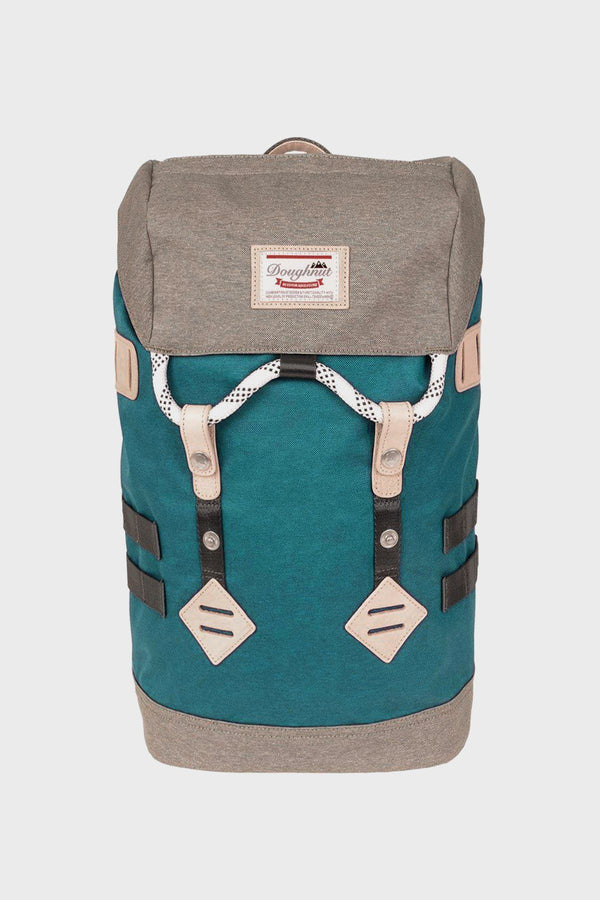 Small Blue Denim / Charcoal Colorado Backpack - Doughnut Backpack