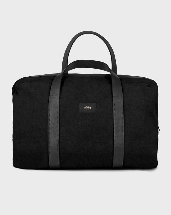 Chelsea Black Duffle Travel Bag - Life in Paradigm Menswear London