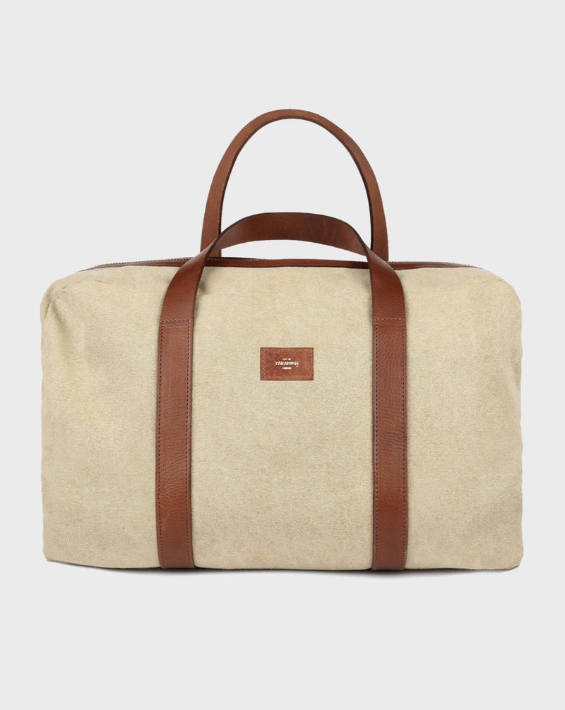 Montague Beige Duffle Bag