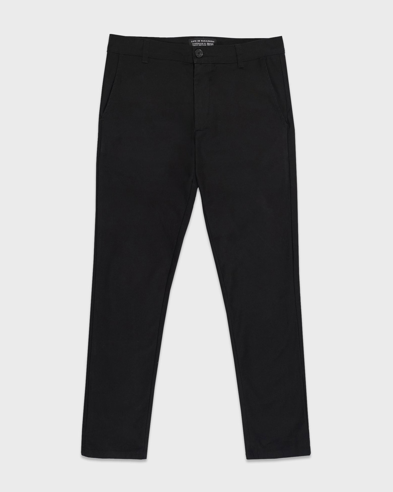 Black Stokey Chino - Life in Paradigm Menswear London