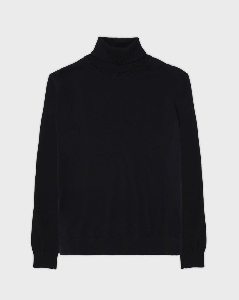Black Turtle Neck Jumper - Life in Paradigm