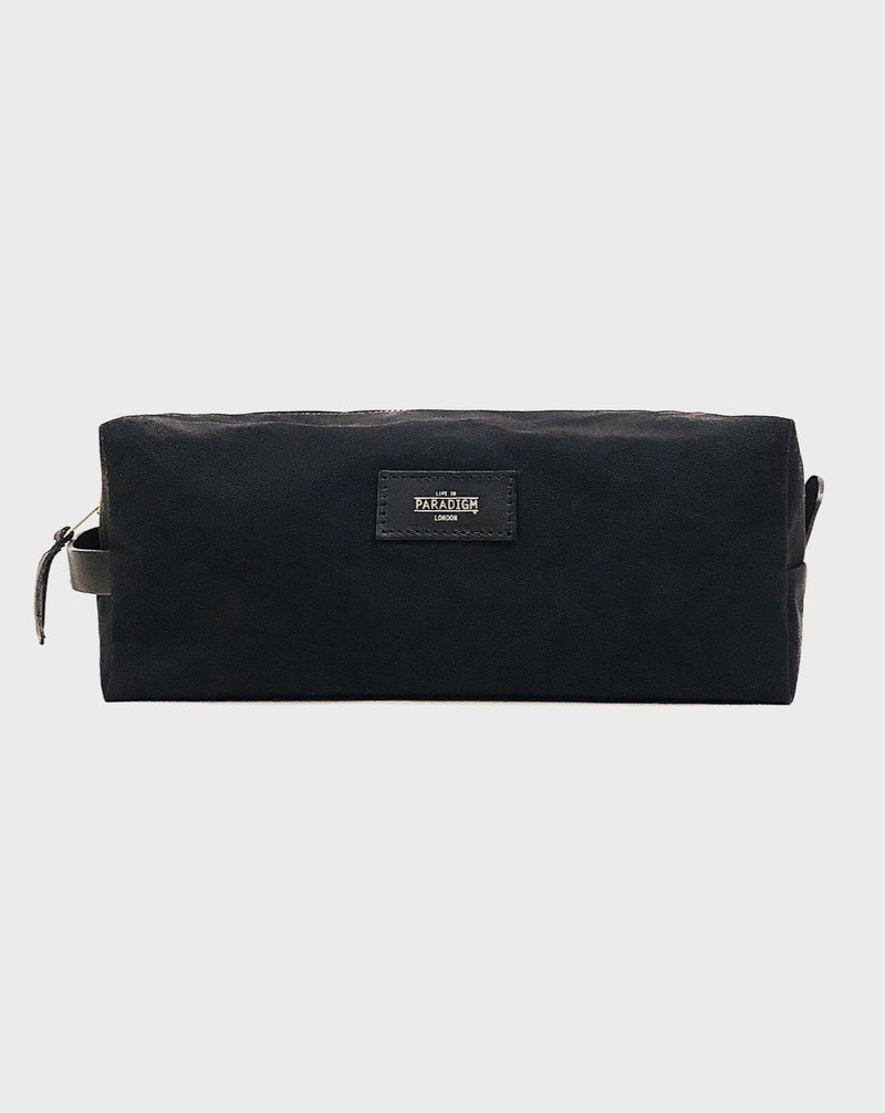 Montague Black Wash Bag - Life In Paradigm
