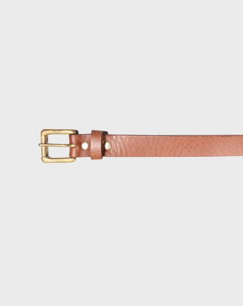 Church Street Brown Leather Belt - Life In Paradigm