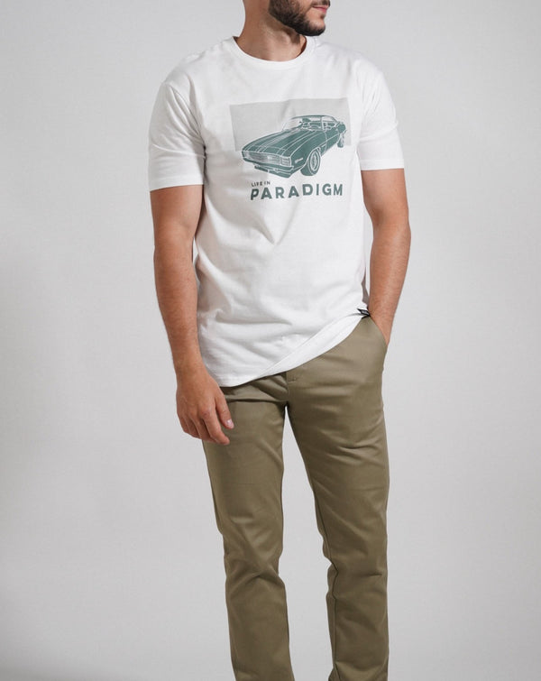 Muscle Car T-Shirt - Life in Paradigm Menswear London