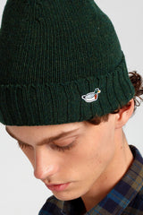 Forest Green Duck Fisherman Beanie - Life in Paradigm Menswear London