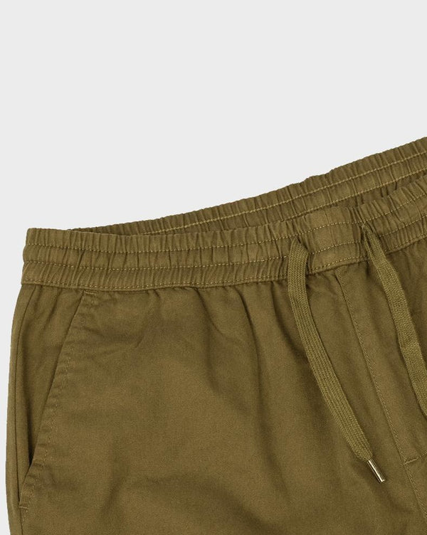 Khaki Lightweight Chino Joggers - Life in Paradigm Menswear London