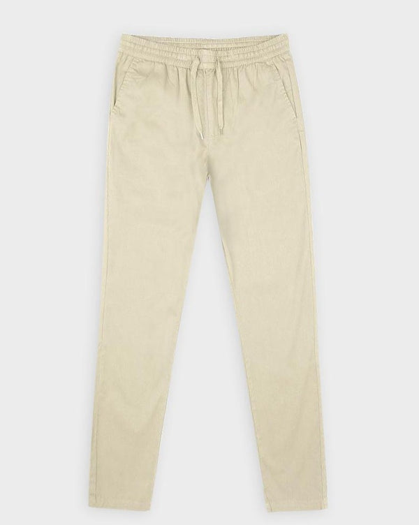 Stone Lightweight Chino Joggers - Life in Paradigm Menswear London