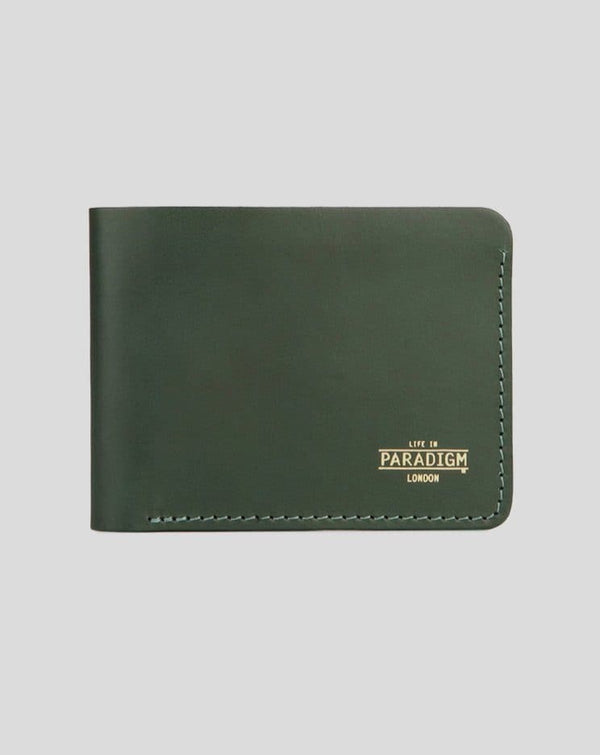 Green Leather Wallet