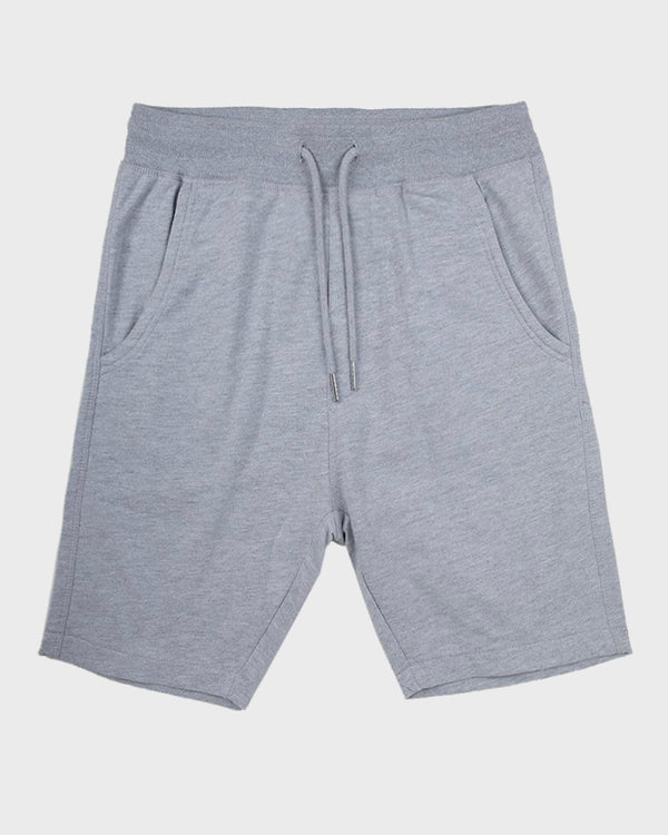 Grey Jogger Shorts - Life in Paradigm Menswear London
