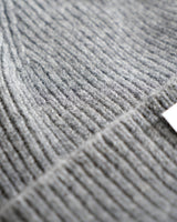 Grey Highland Wool Beanie - Life in Paradigm Menswear London