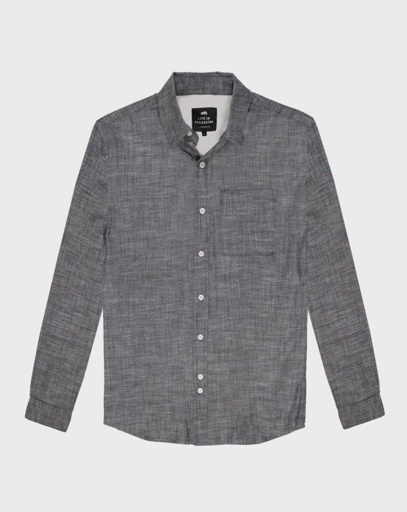 Grey Oxford Shirt - Life in Paradigm
