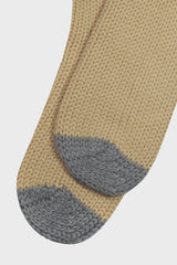 Grey and Cream Cabin Socks - Life in Paradigm Menswear London