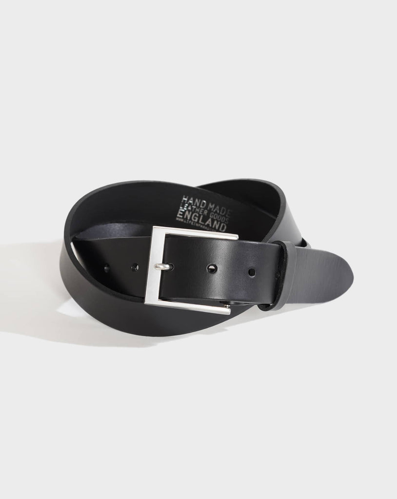 Islington Black Leather Belt - Life in Paradigm