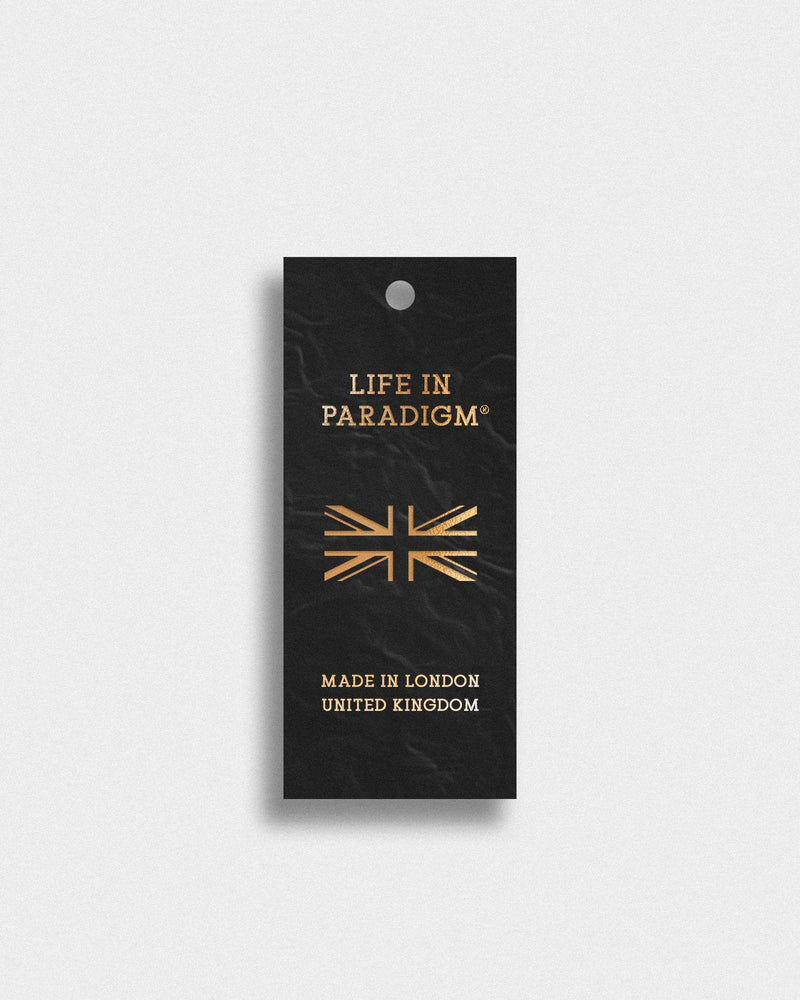 Black Leather Hotel Style Keyring - Life in Paradigm Menswear London
