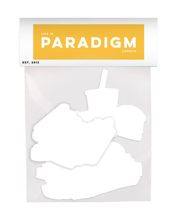 Life In Paradigm - 3 pack Stickers - All America