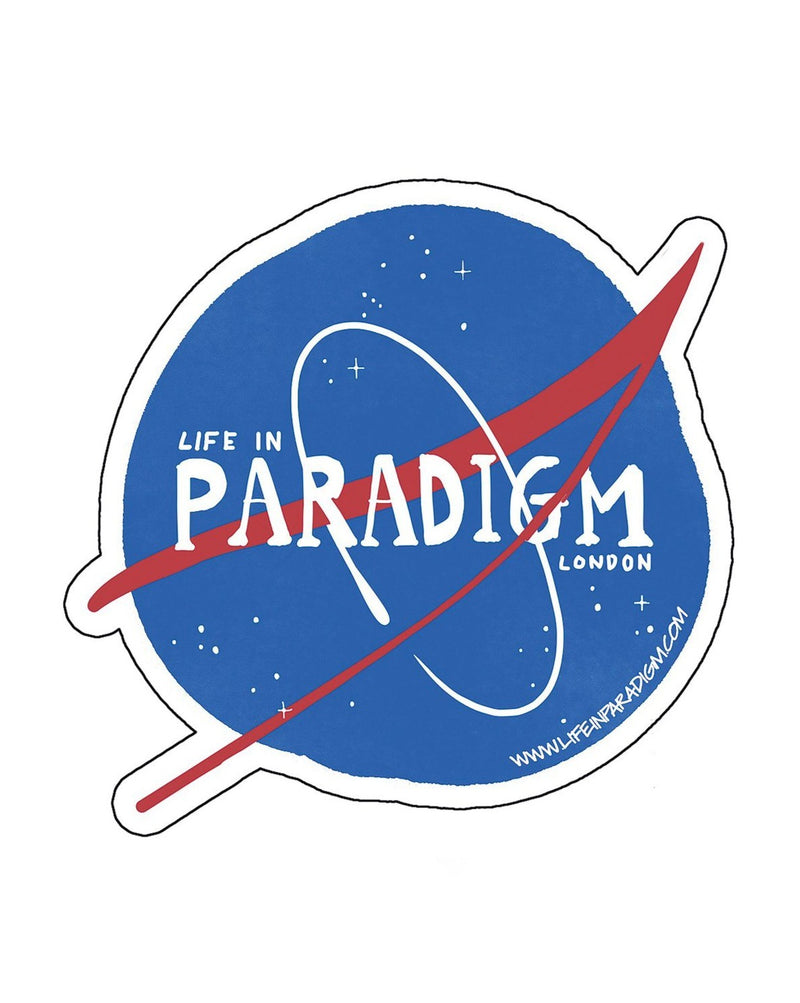 Life In Paradigm - Sticker 3 Pack media - Nasa Inspired