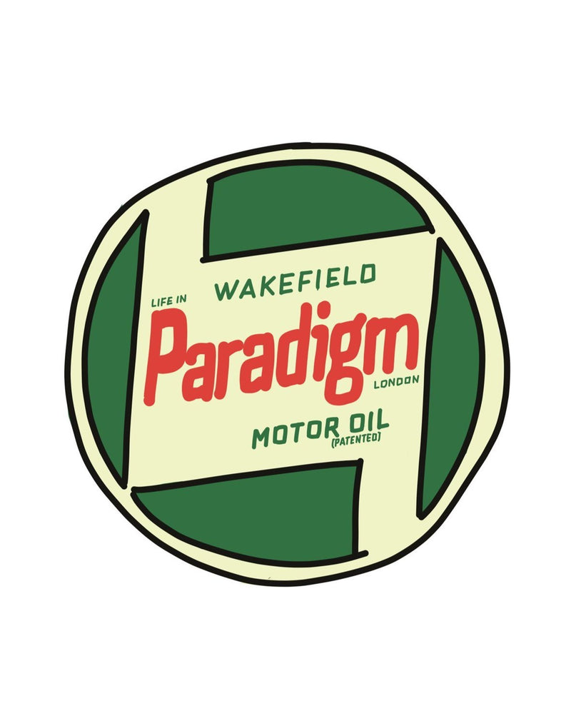 Life In Paradigm - Sticker 3 Pack media - Oil Tin