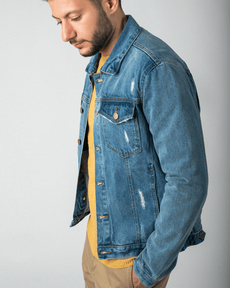 Denim Jacket - Life in Paradigm Menswear London