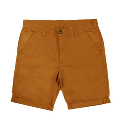 Tobacco Chino Shorts - Life In Paradigm