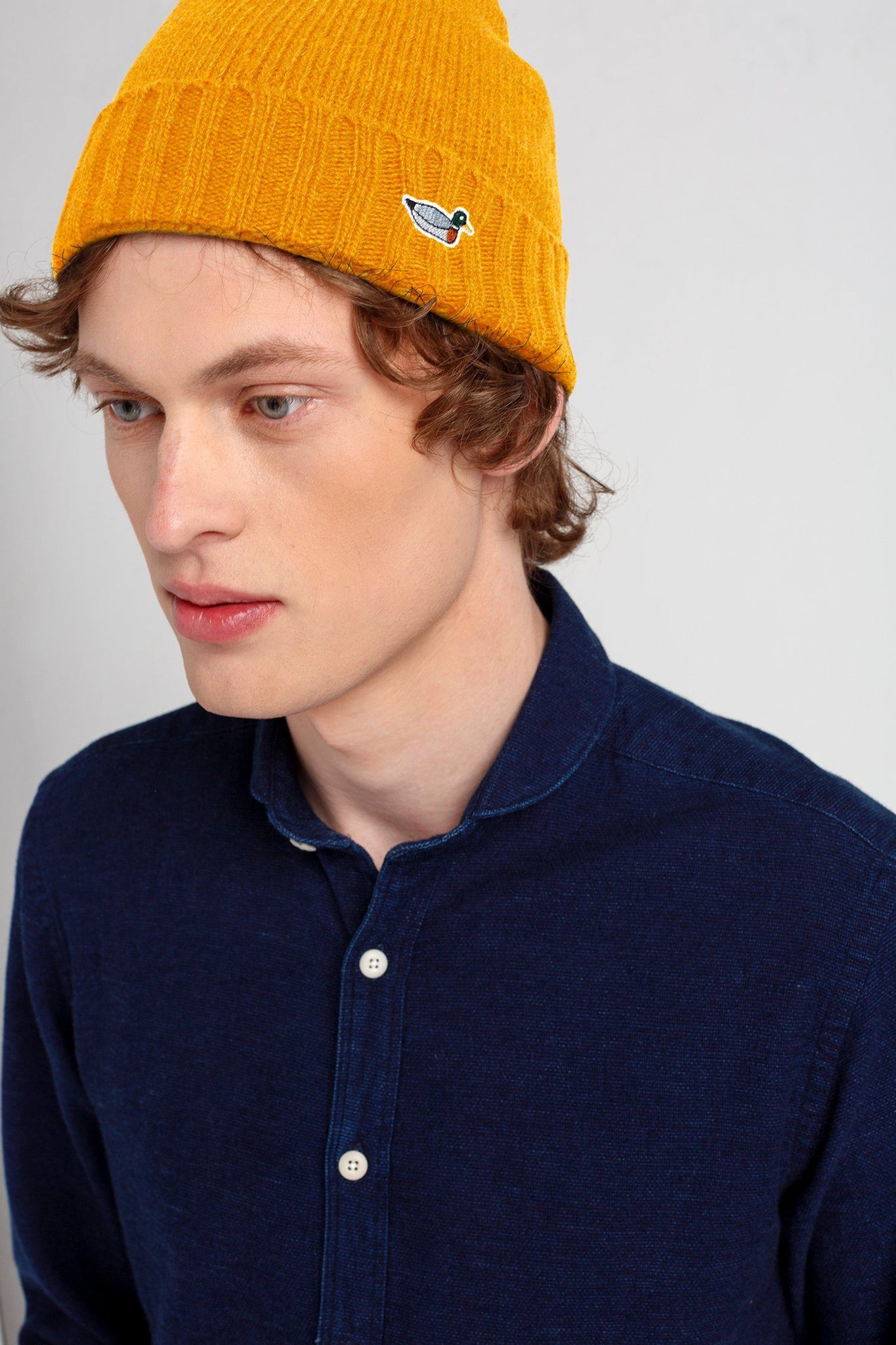 Mustard Duck Fisherman Beanie - Life in Paradigm Menswear London