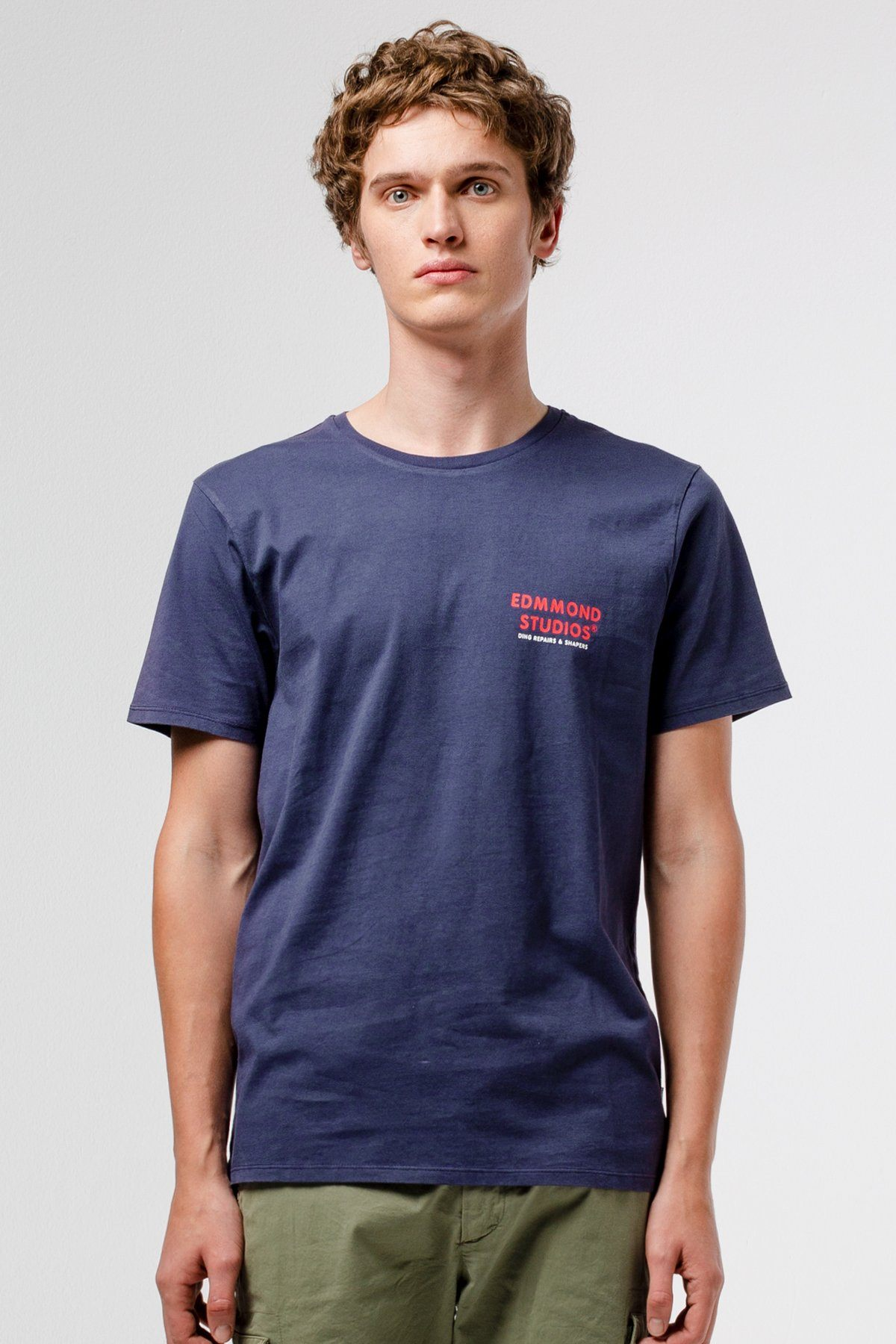 Navy Surfboard Repairs T-shirt - Life in Paradigm Menswear London
