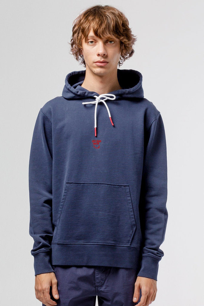 Navy No bad days hoodie - Life in Paradigm