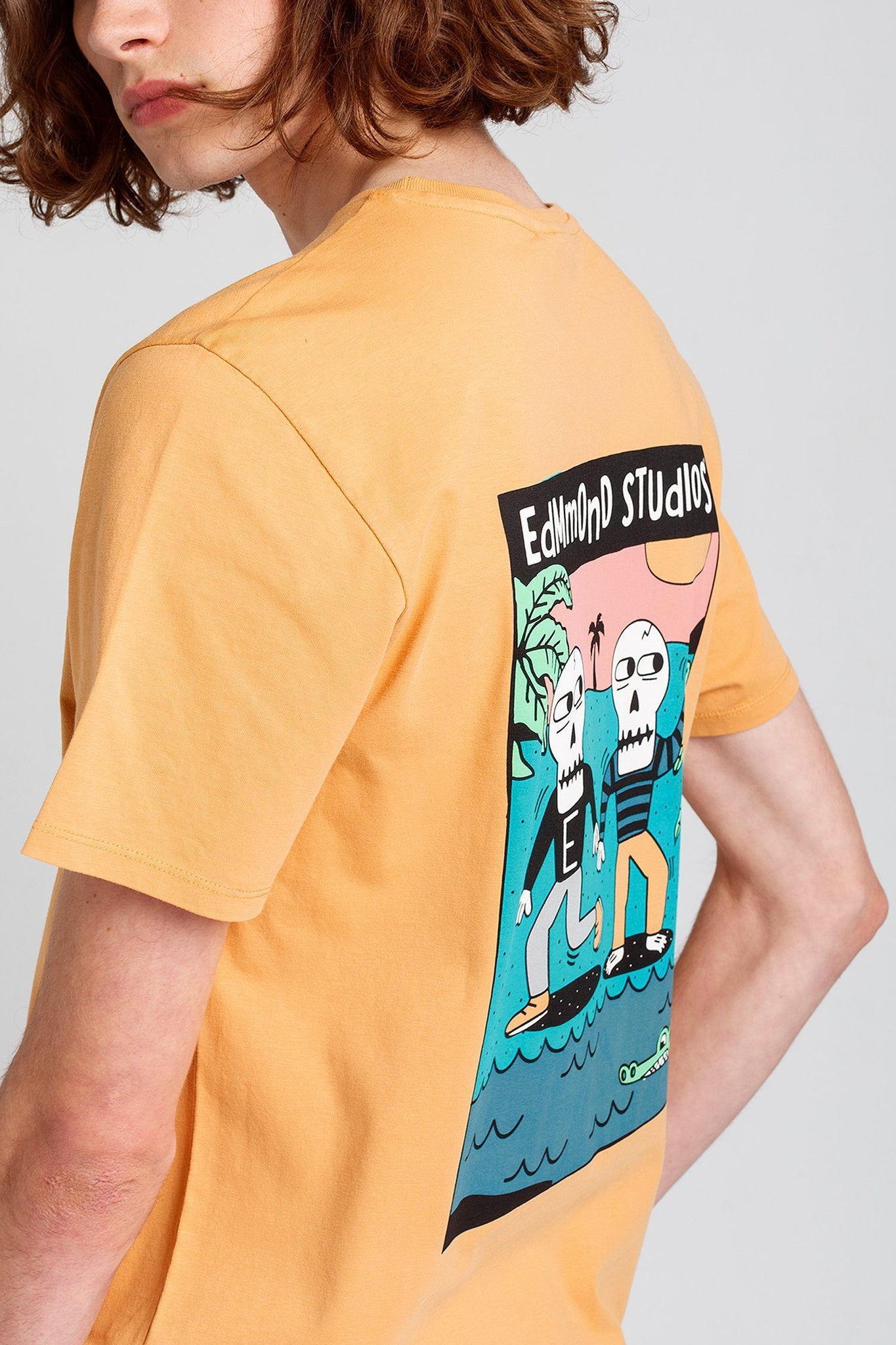 Orange Voodoo jungle T-Shirt - Life in Paradigm Menswear London
