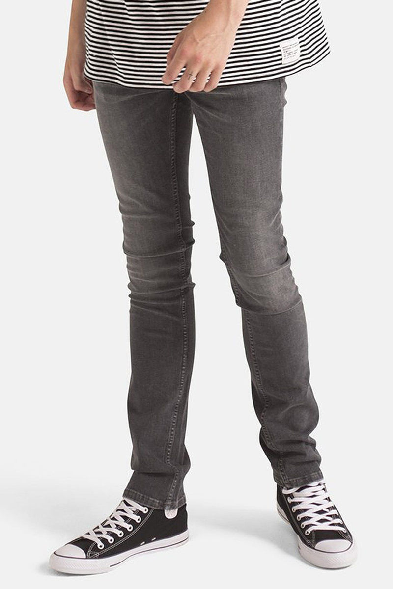 Organic Grey Slim Jeans - Life in Paradigm Menswear London