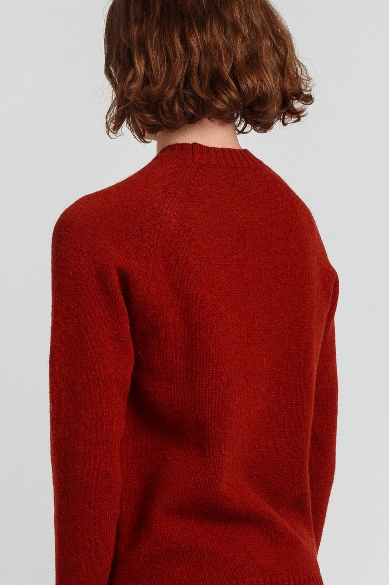 Red Wool Knitted Jumper - Life in Paradigm Menswear London