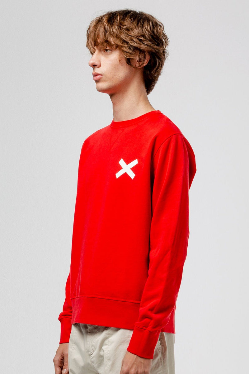 Red Cross Sweatshirt - Edmmond Studios