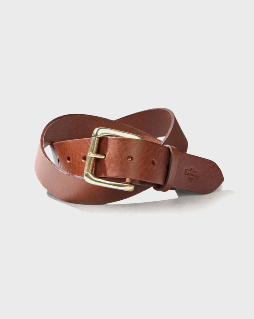 Stokey Brown Leather Belt - Life in Paradigm